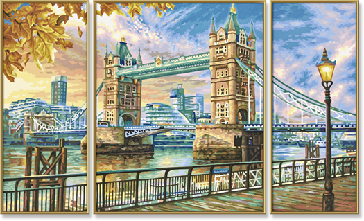 London Tower Bridge 50 x 80 cm