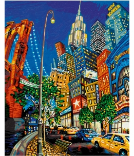 The Big Apple - Miguel Freitas 40 x 50 cm
